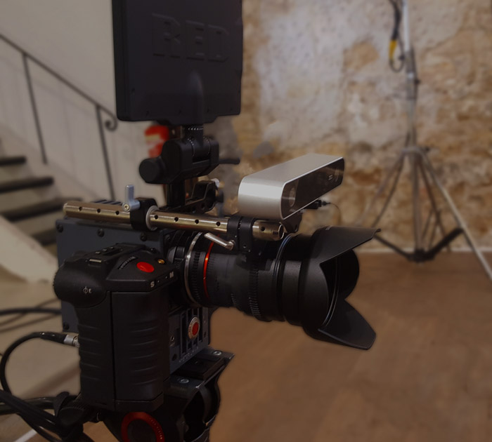 ZED on RED camera for VFX